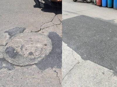 ให้ฝาท่อเสมอถนน ลดอุบัติเหตุ #ซอยวุฒากาศ 47